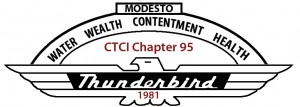 Modesto T Bird Club logo