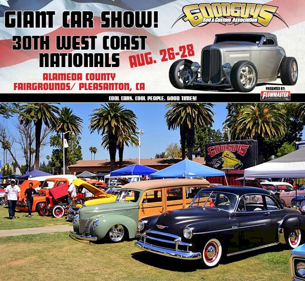 Giant car show Goodguys