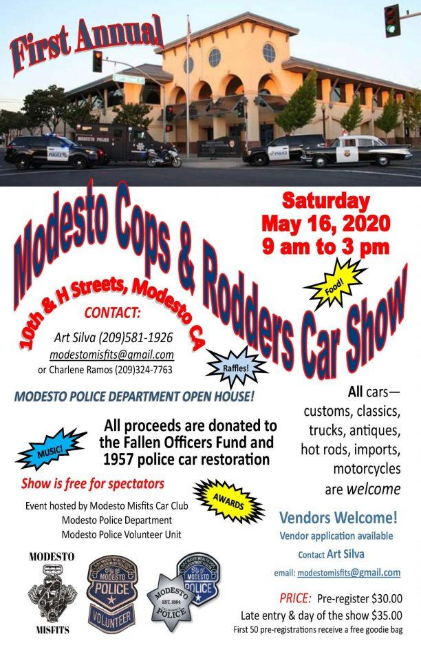 Modesto Cops & Rodders May 16 2020